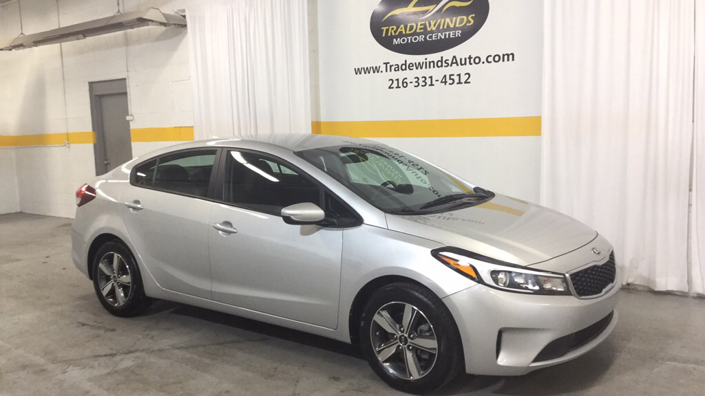 2018 KIA FORTE LX for sale at Tradewinds Motor Center