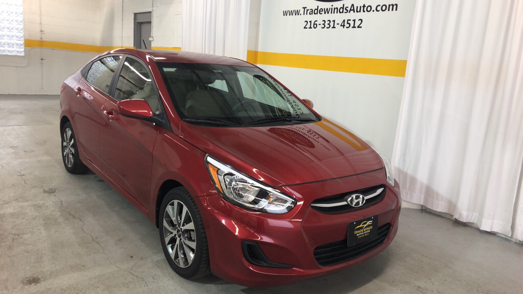 2017 HYUNDAI ACCENT VALUE EDITION for sale at Tradewinds Motor Center