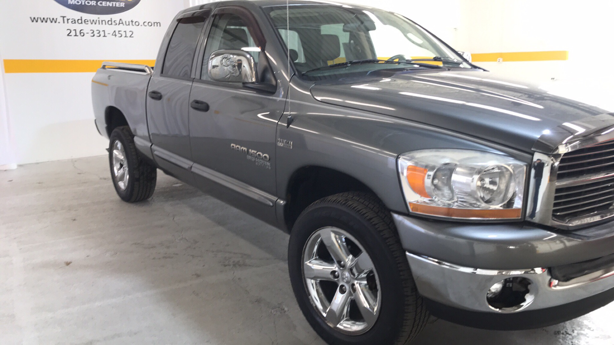 2006 DODGE RAM 1500 SPORT LONGHORN for sale at Tradewinds Motor Center