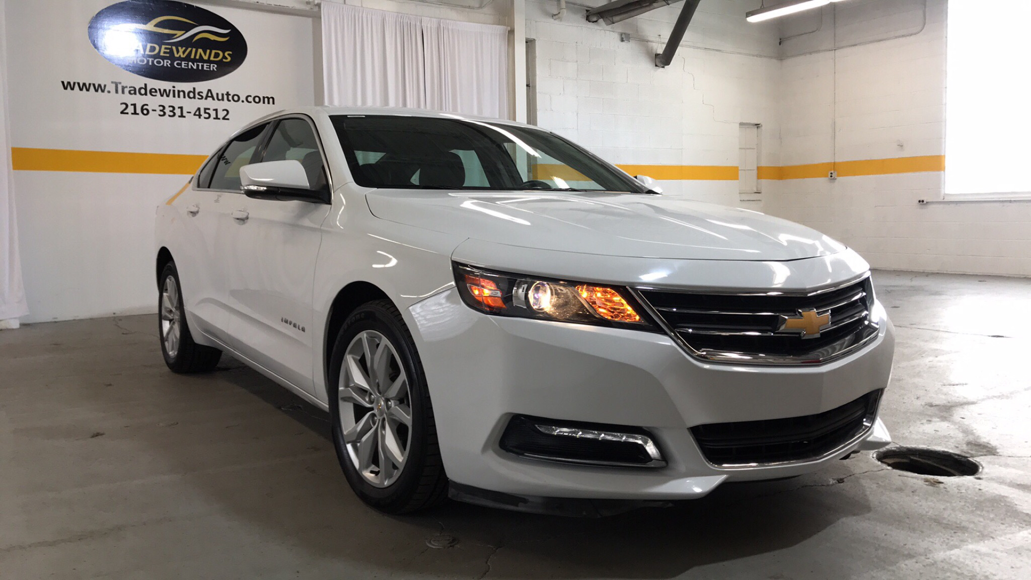 2018 CHEVROLET IMPALA LT for sale at Tradewinds Motor Center