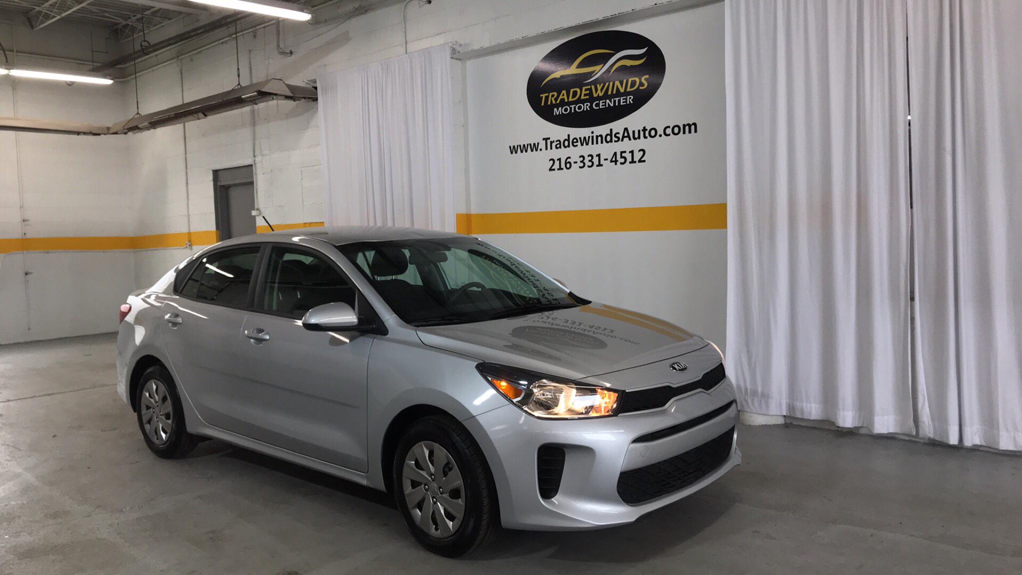 2018 KIA RIO S for sale at Tradewinds Motor Center