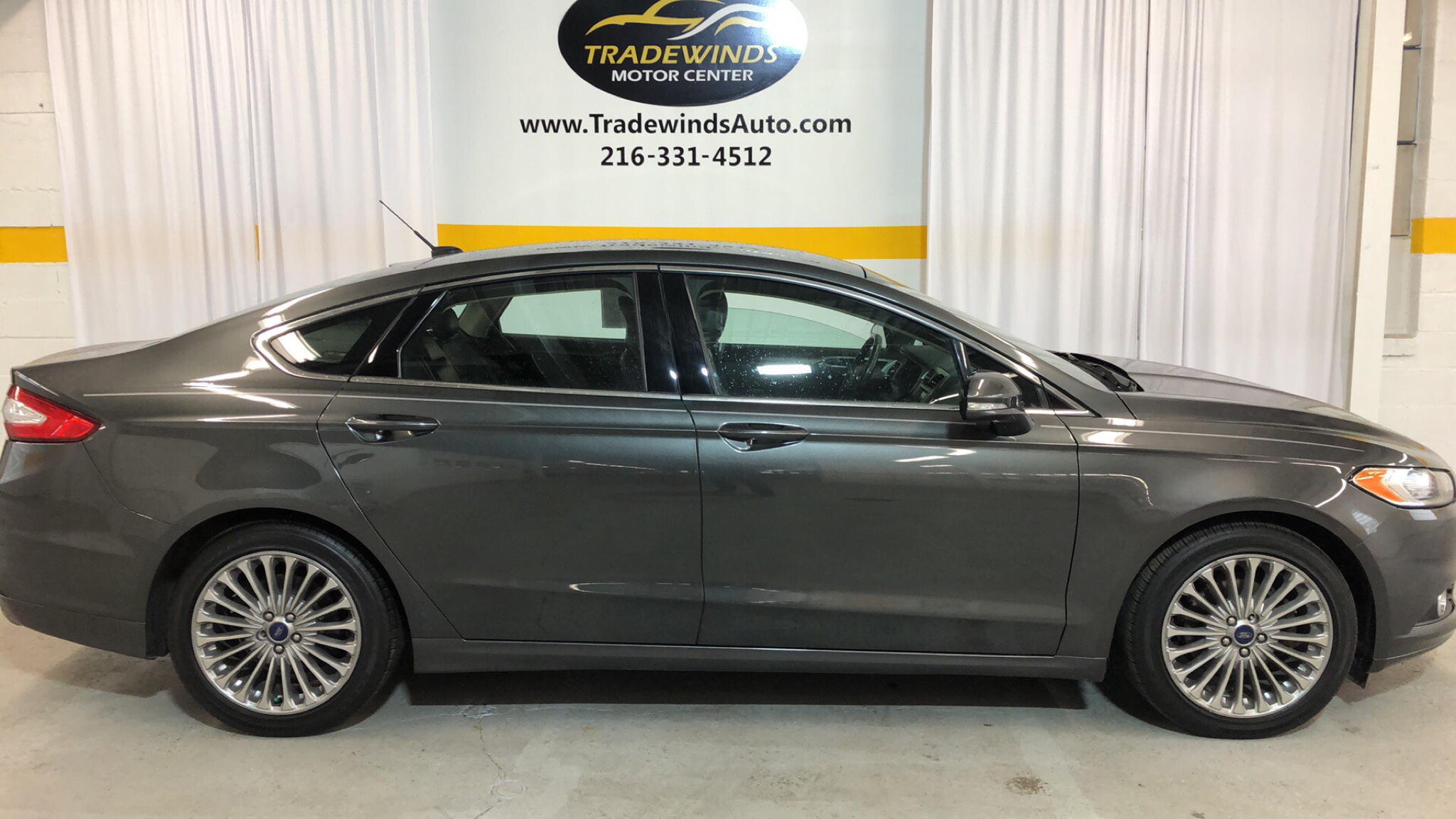 2015 FORD FUSION SE for sale at Tradewinds Motor Center