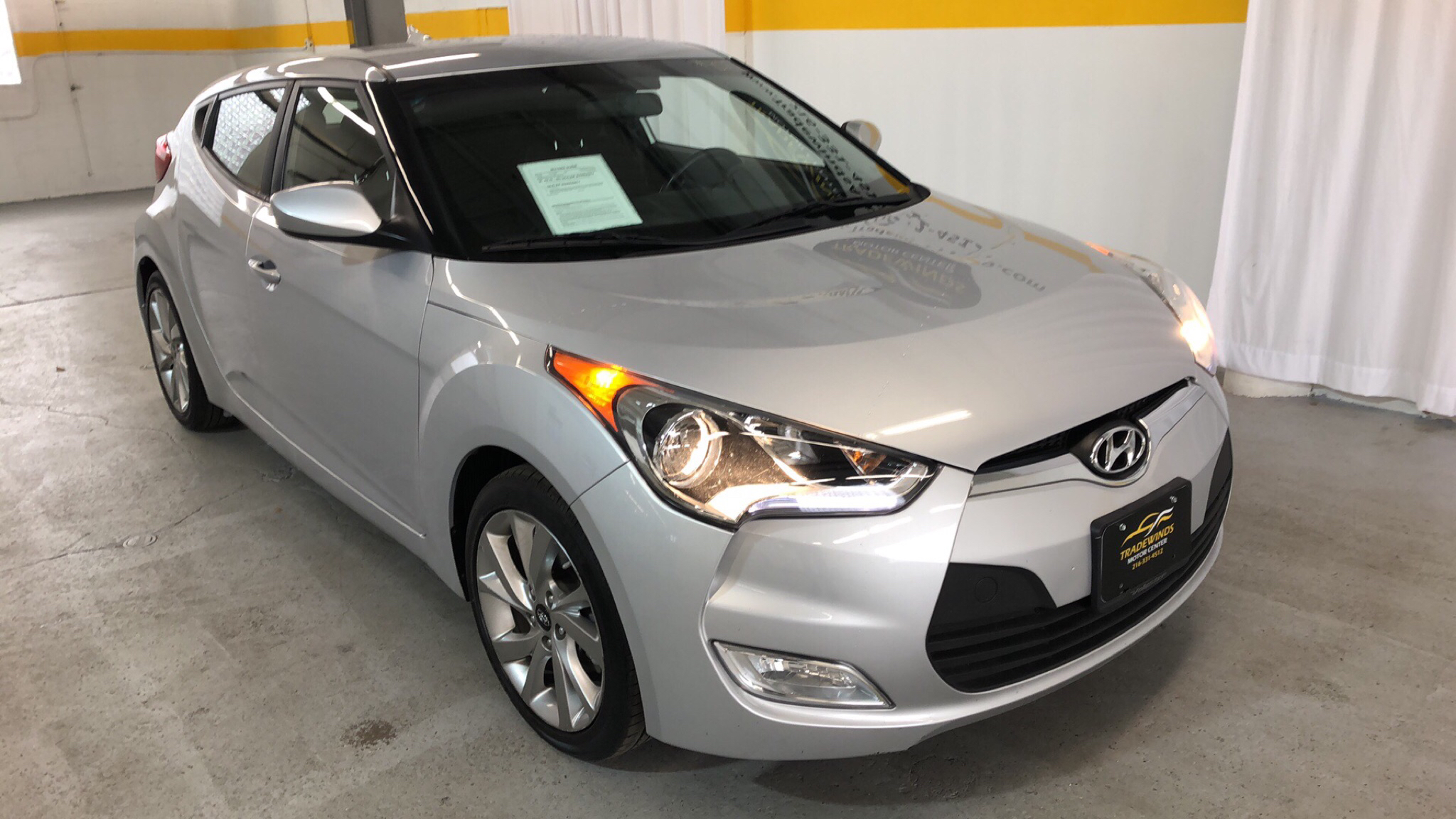 2017 HYUNDAI VELOSTER BASE for sale at Tradewinds Motor Center
