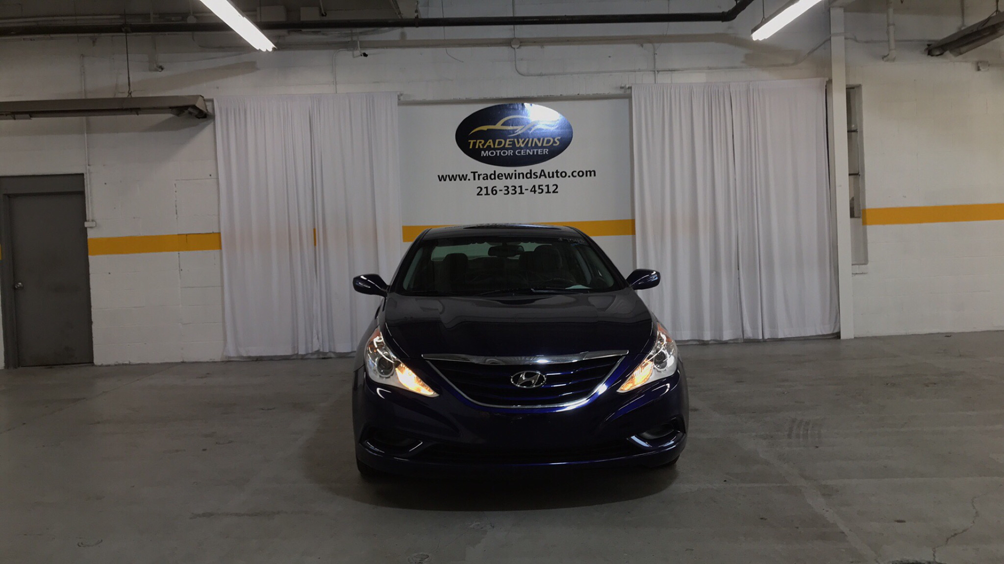 2012 HYUNDAI SONATA GLS for sale at Tradewinds Motor Center