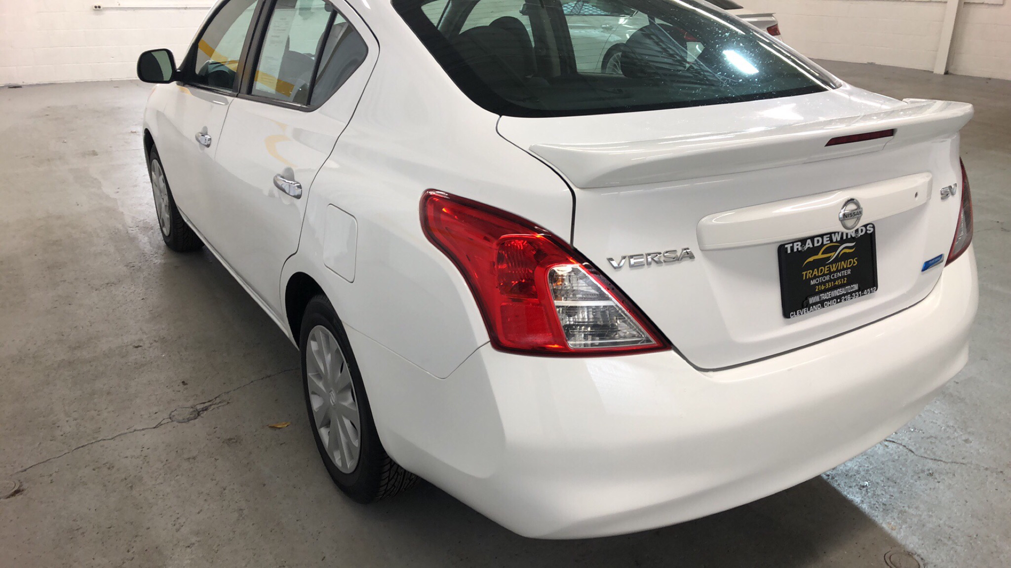 2013 NISSAN VERSA S for sale at Tradewinds Motor Center