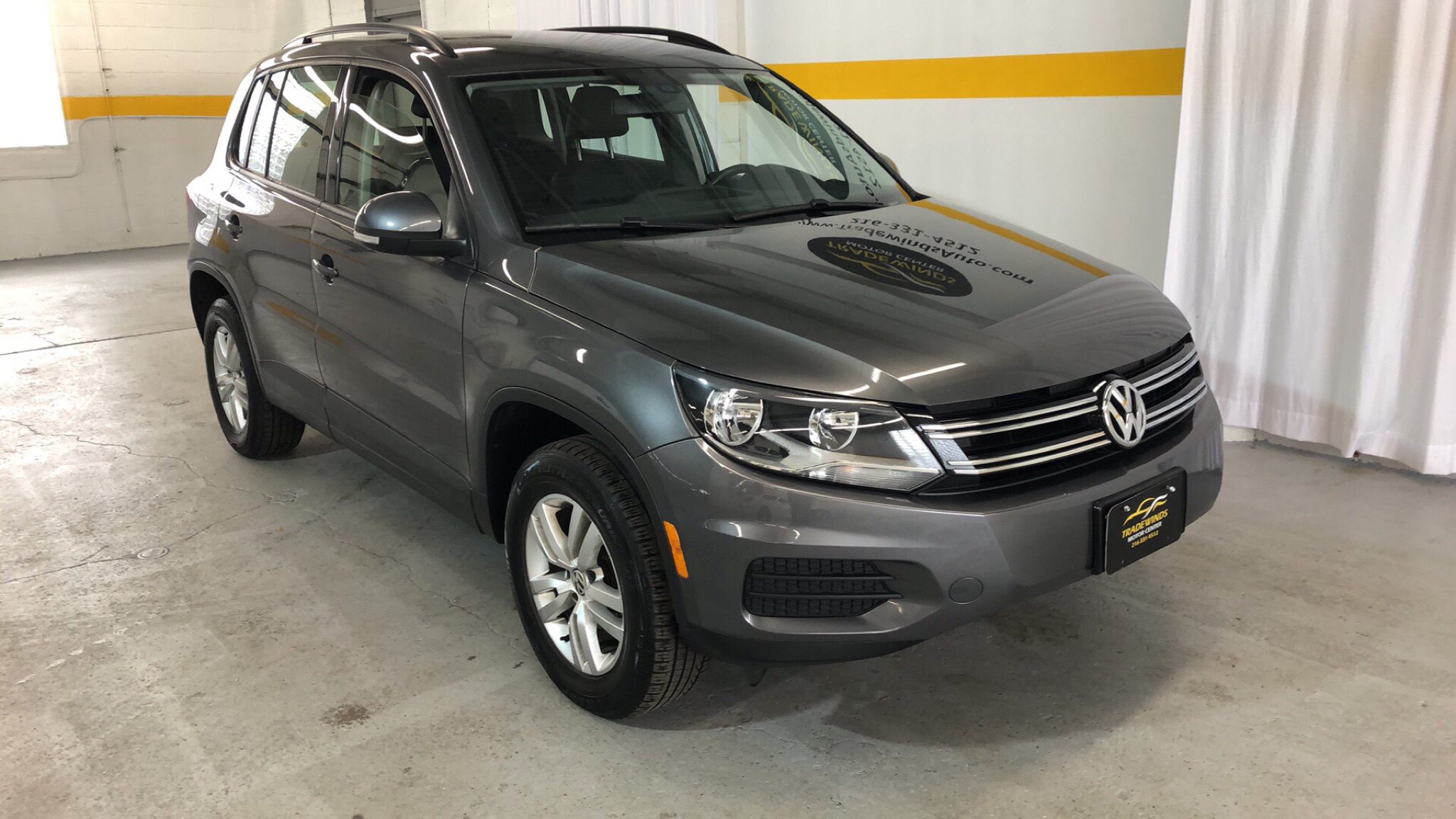 2016 VOLKSWAGEN TIGUAN SE for sale at Tradewinds Motor Center