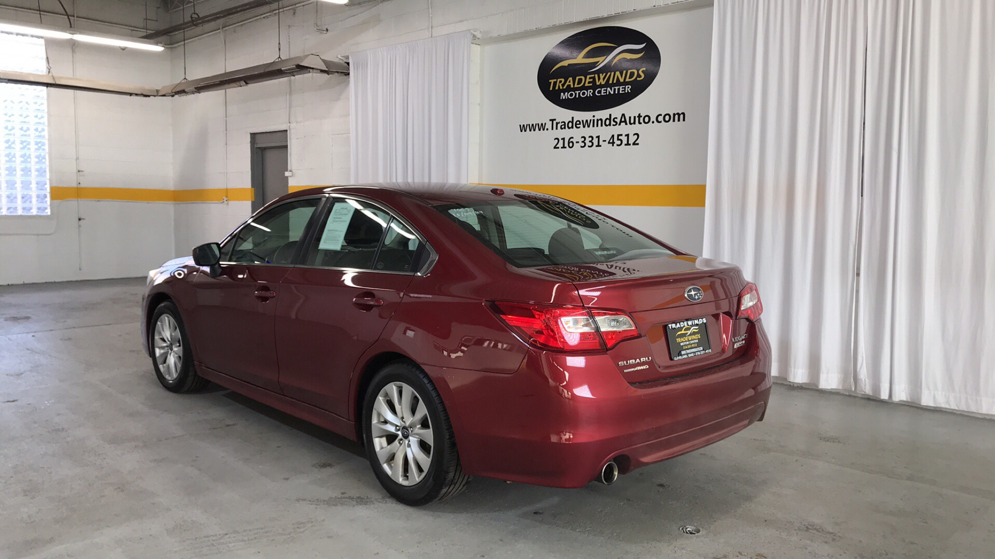 2015 SUBARU LEGACY 2.5I PREMIUM for sale at Tradewinds Motor Center