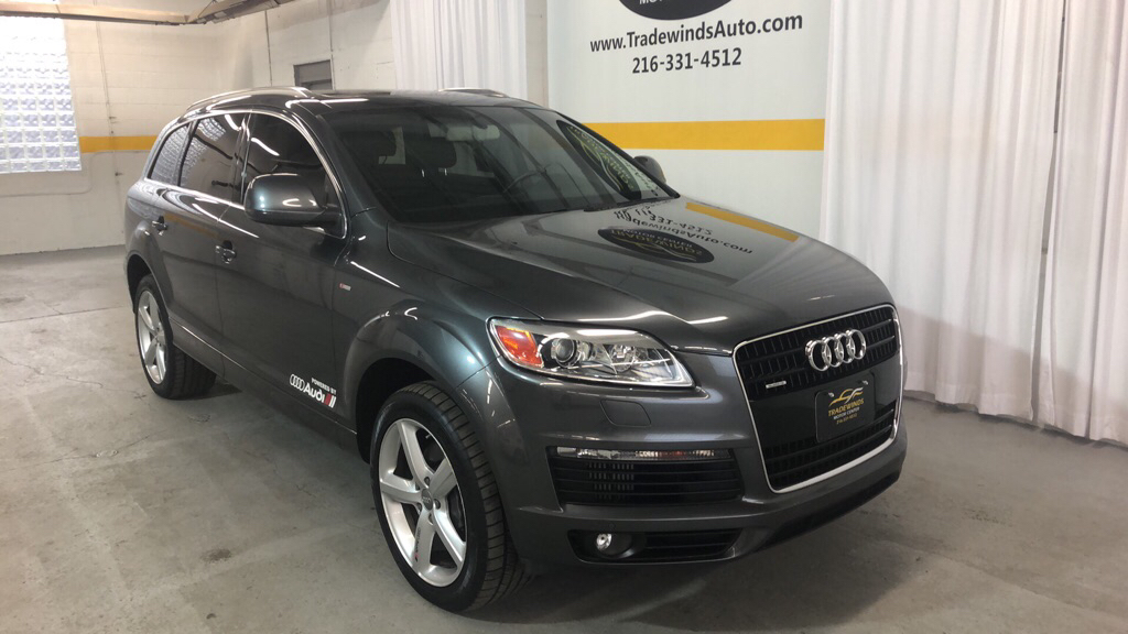 2009 AUDI Q7 PRESTIGE TDI S-LINE for sale at Tradewinds Motor Center