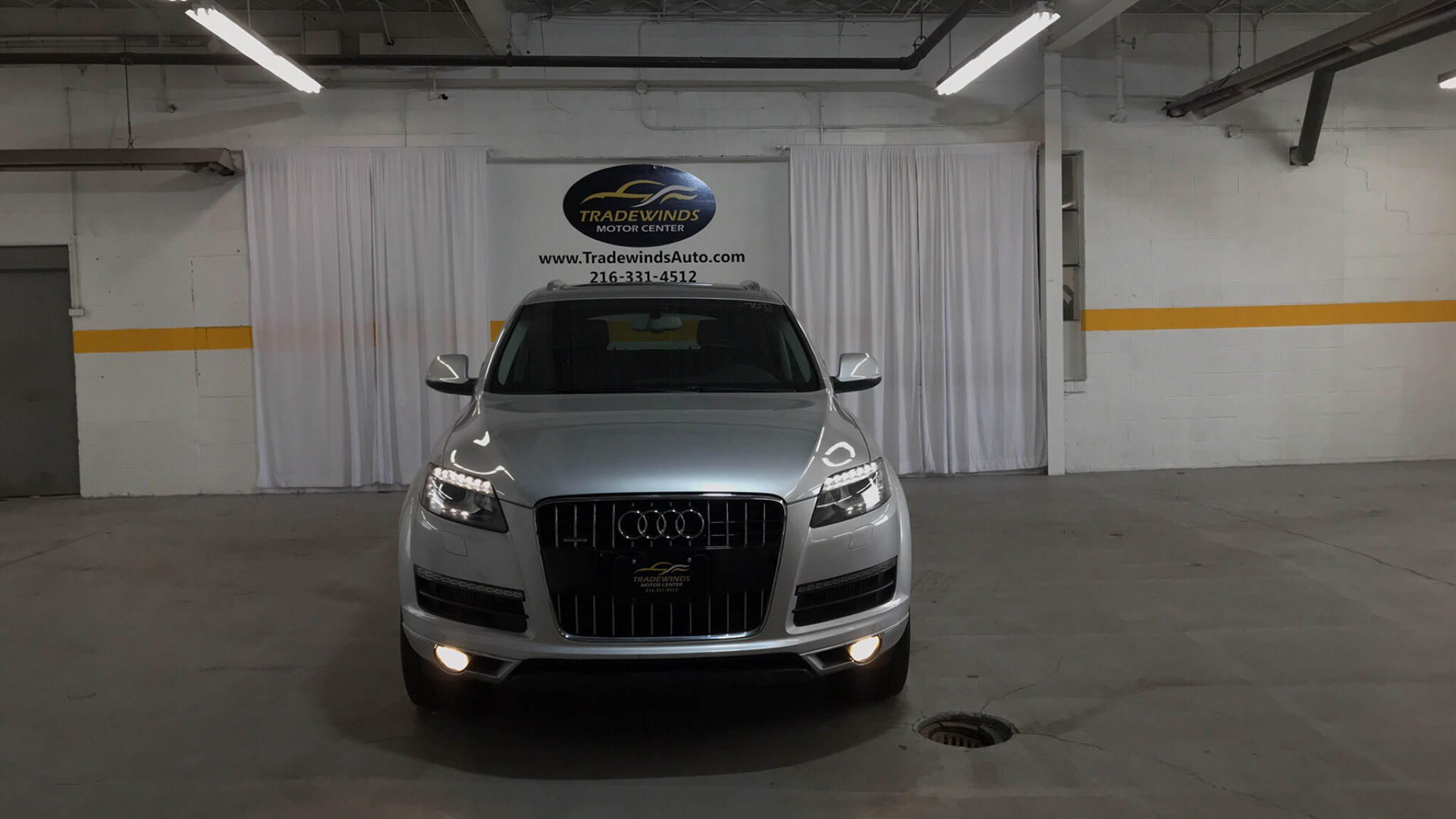 2010 AUDI Q7 PREMIUM PLUS for sale at Tradewinds Motor Center