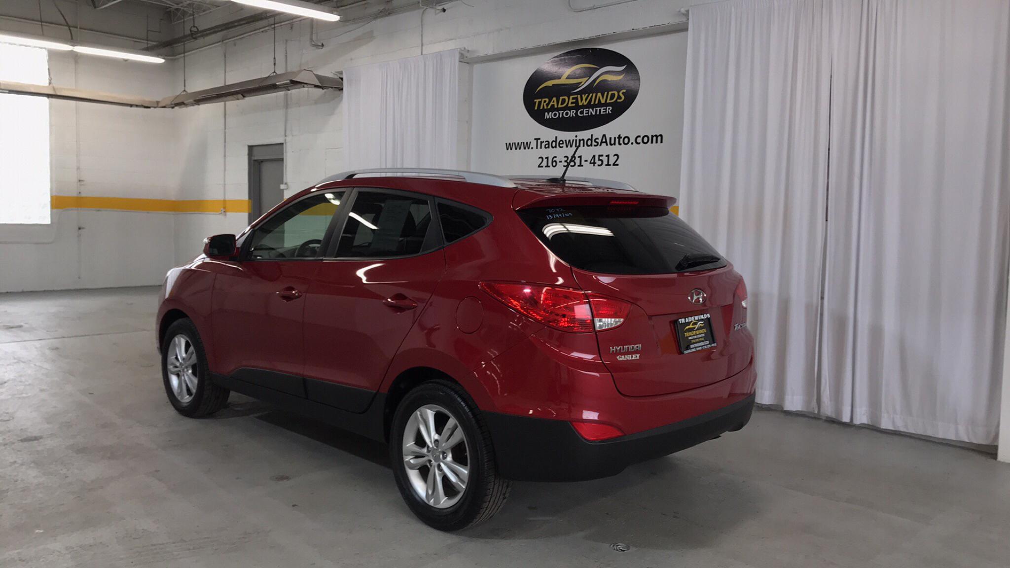 2013 HYUNDAI TUCSON GLS for sale at Tradewinds Motor Center