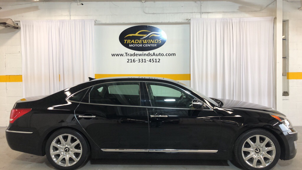 2011 HYUNDAI EQUUS ULTIMATE for sale at Tradewinds Motor Center