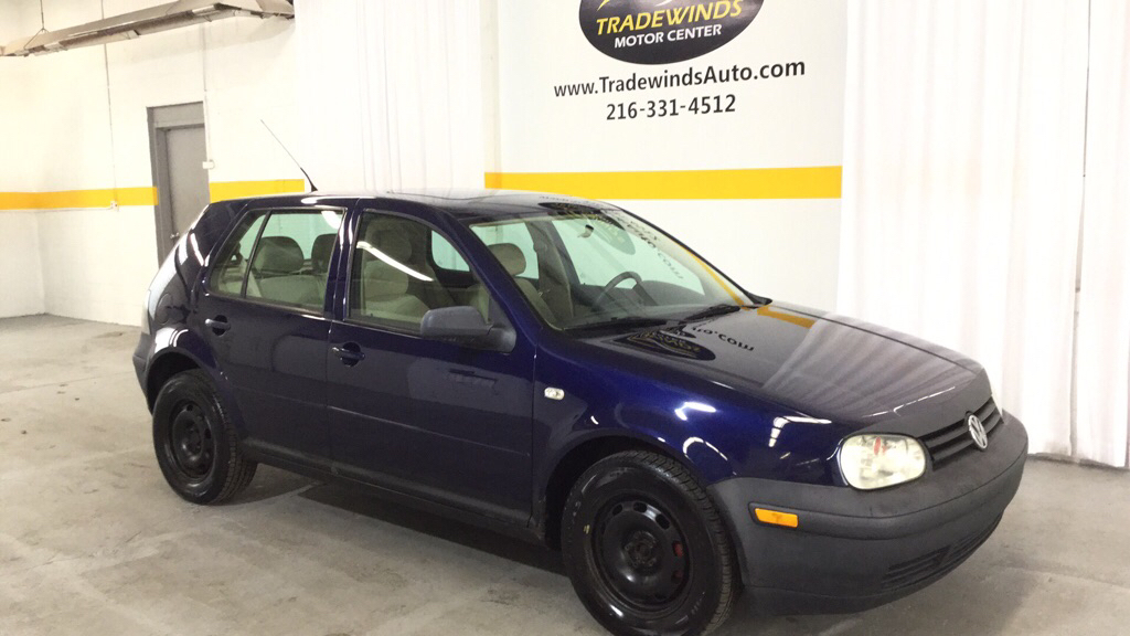 2002 VOLKSWAGEN GOLF GLS for sale at Tradewinds Motor Center