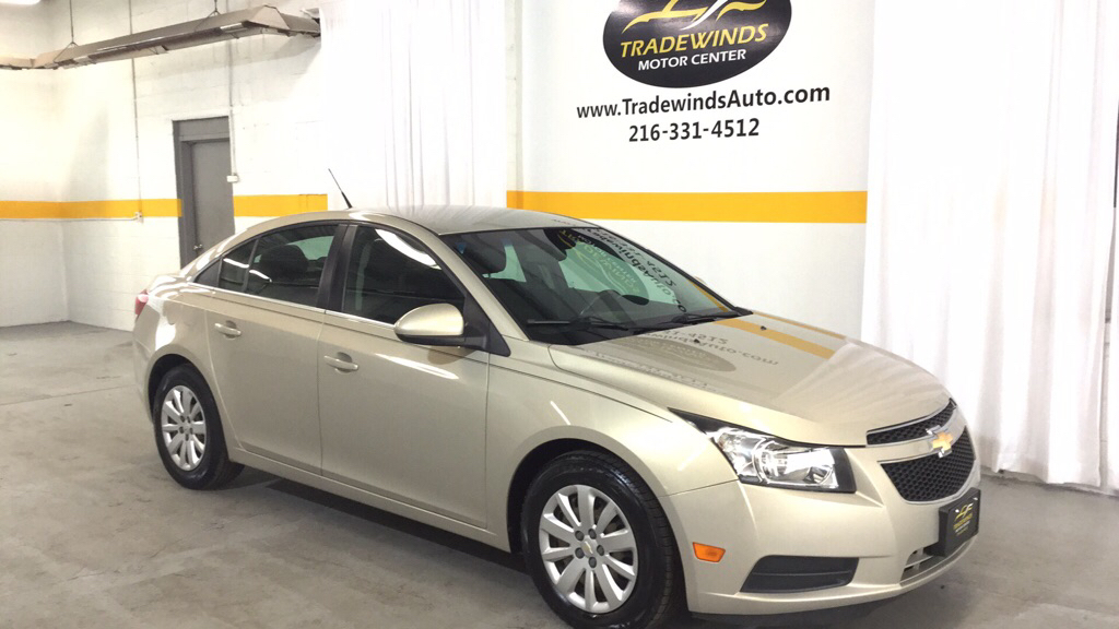 2011 CHEVROLET CRUZE LT for sale at Tradewinds Motor Center