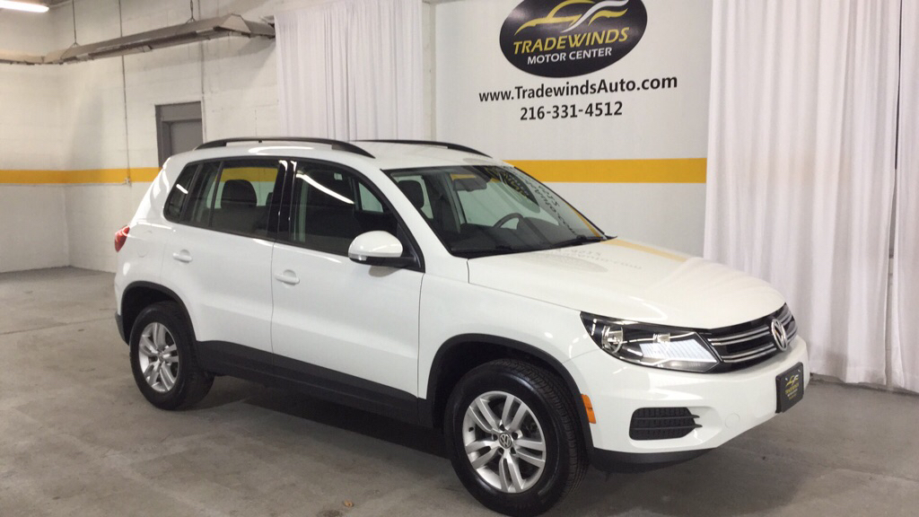 2016 VOLKSWAGEN TIGUAN S for sale at Tradewinds Motor Center