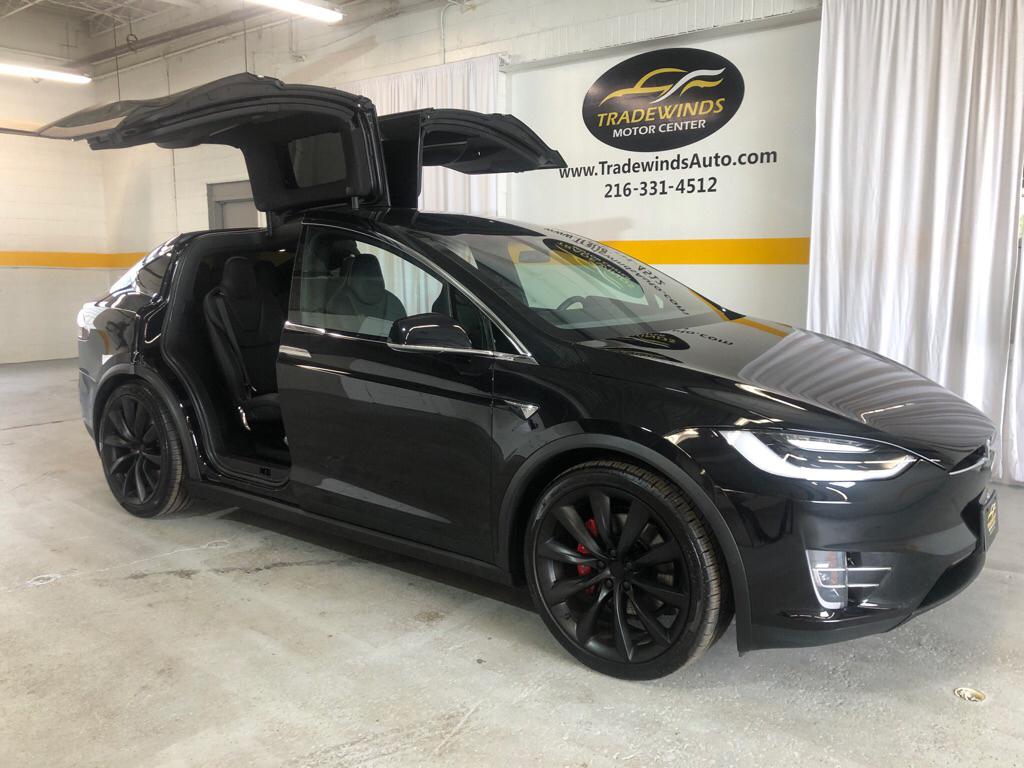 2018 TESLA MODEL X P100D P100D for sale at Tradewinds Motor Center