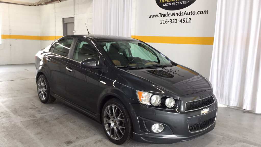 2014 CHEVROLET SONIC LTZ for sale at Tradewinds Motor Center