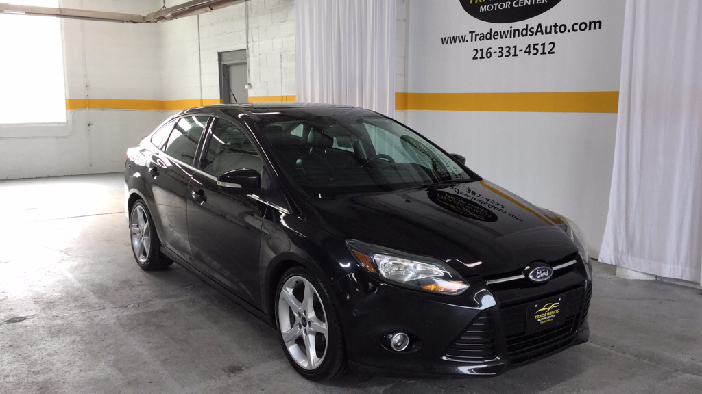 2012 FORD FOCUS TITANIUM for sale at Tradewinds Motor Center