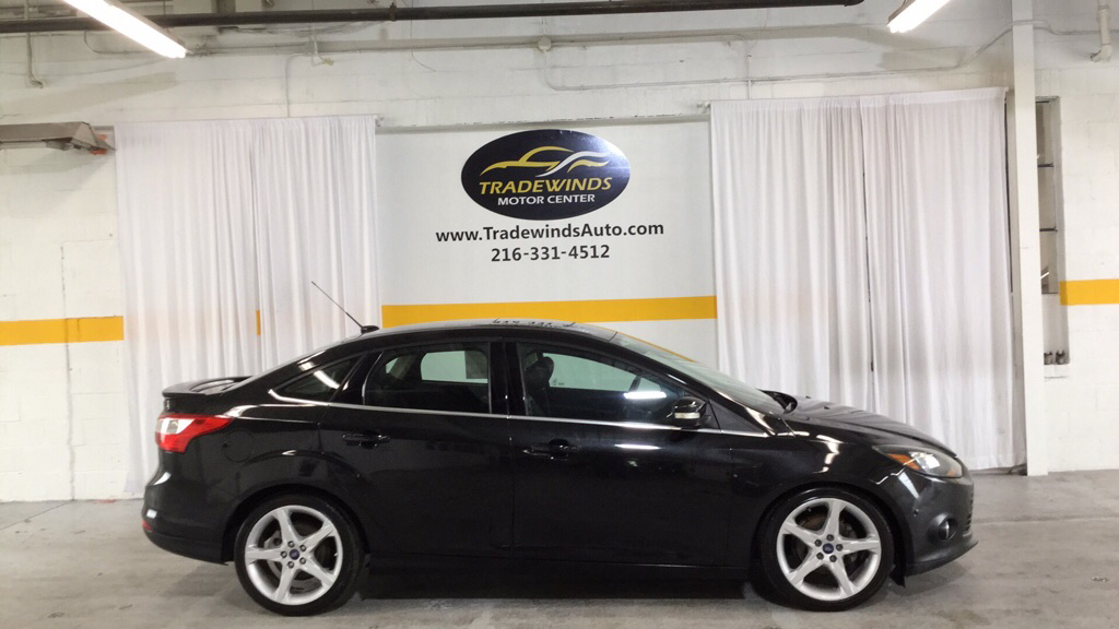 2012 FORD FOCUS TITANIUM for sale at Tradewinds Motor Center