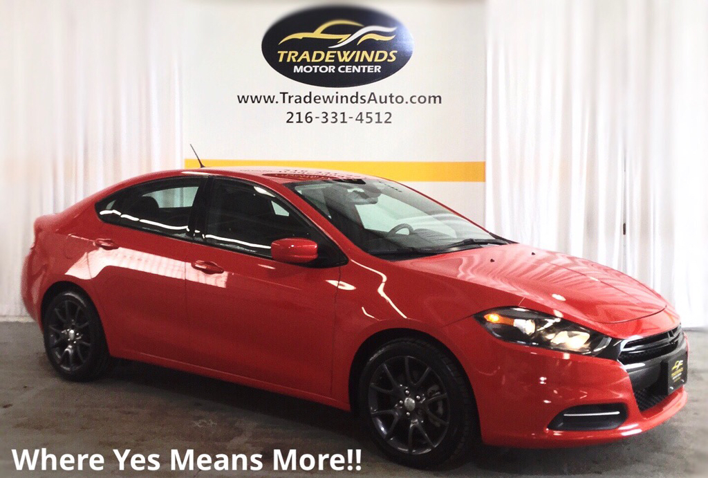 2016 DODGE DART SE for sale at Tradewinds Motor Center