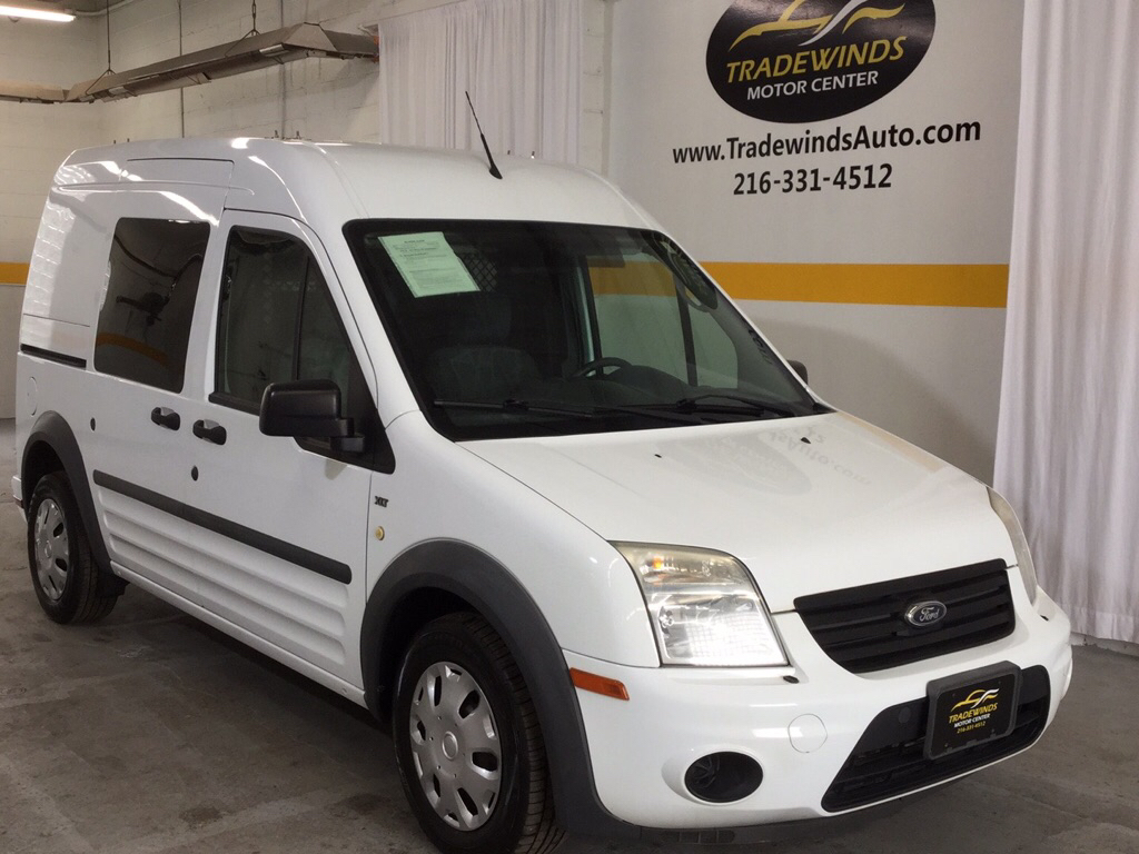 2013 FORD TRANSIT CONNECT XLT for sale at Tradewinds Motor Center