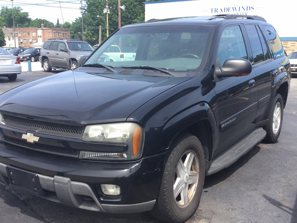 2002 CHEVROLET TRAILBLAZER  for sale at Tradewinds Motor Center