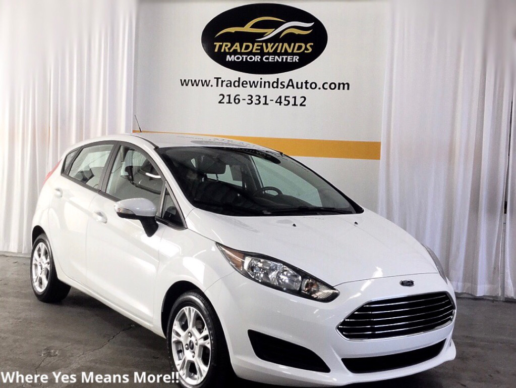 2016 FORD FIESTA SE for sale at Tradewinds Motor Center