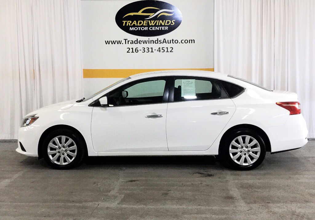 2016 NISSAN SENTRA S for sale at Tradewinds Motor Center