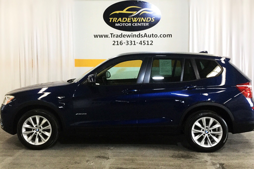 2015 BMW X3 XDRIVE28I for sale at Tradewinds Motor Center