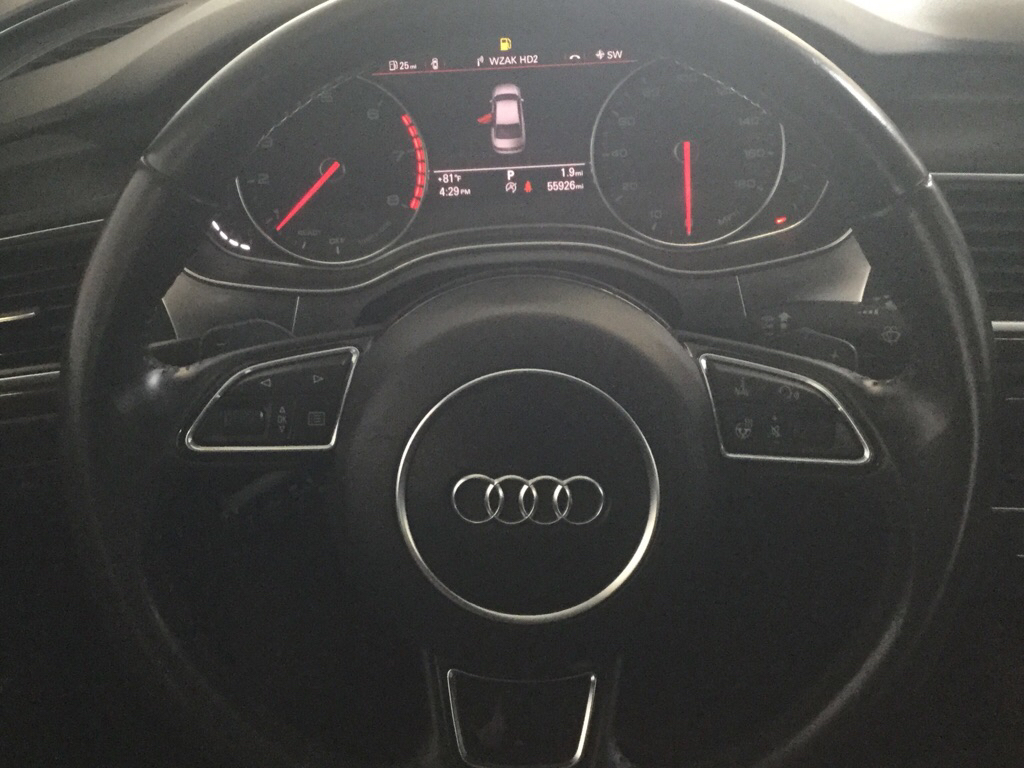 2016 AUDI A6 PREMIUM PLUS for sale at Tradewinds Motor Center