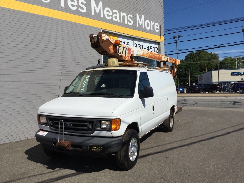 2007 FORD ECONOLINE BOOM E350 SUPER DUTY VAN for sale at Tradewinds Motor Center