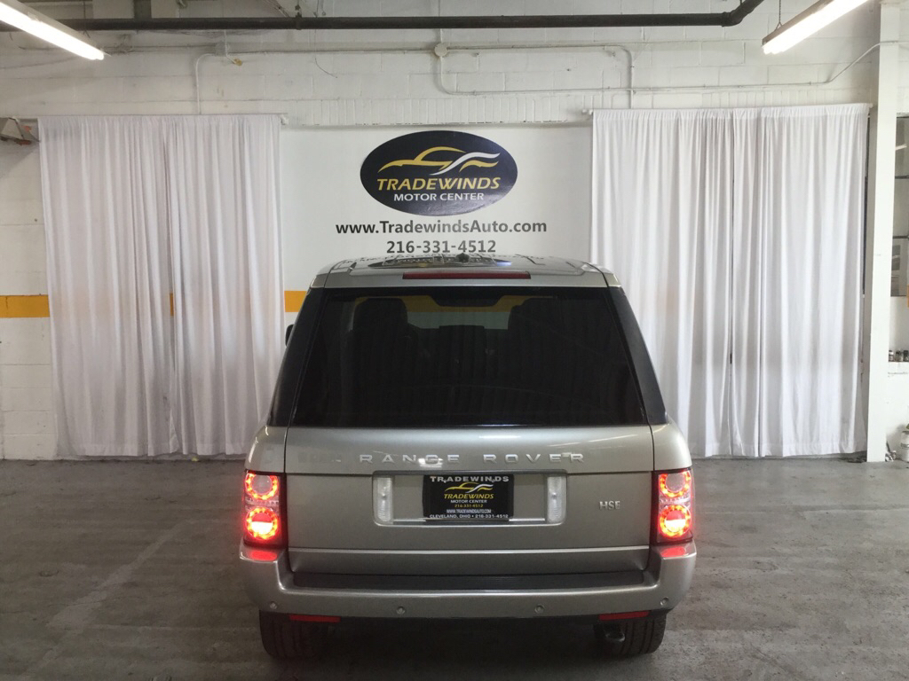 2011 LAND ROVER RANGE ROVER HSE for sale at Tradewinds Motor Center