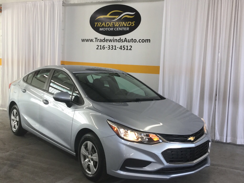 2017 CHEVROLET CRUZE LS for sale at Tradewinds Motor Center