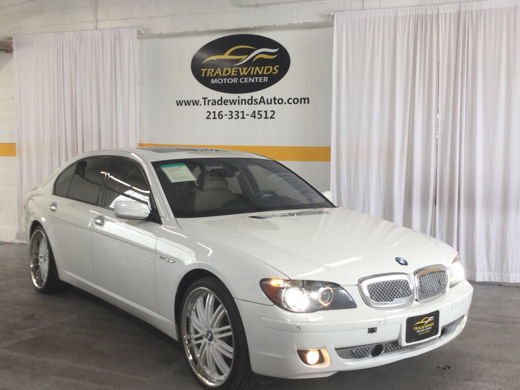 2007 BMW 760 LI for sale at Tradewinds Motor Center