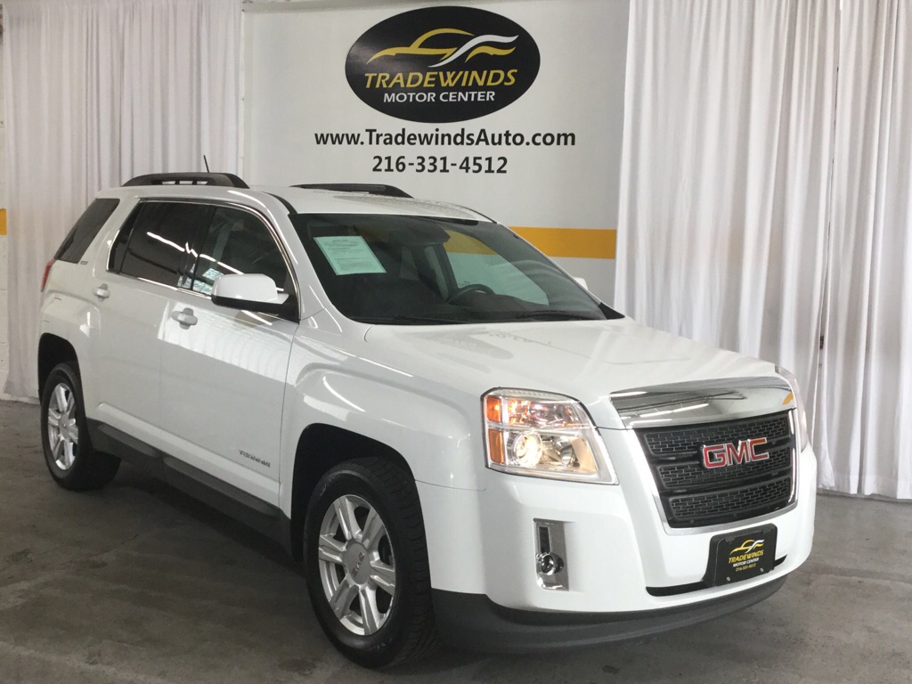 2014 GMC TERRAIN SLT for sale at Tradewinds Motor Center