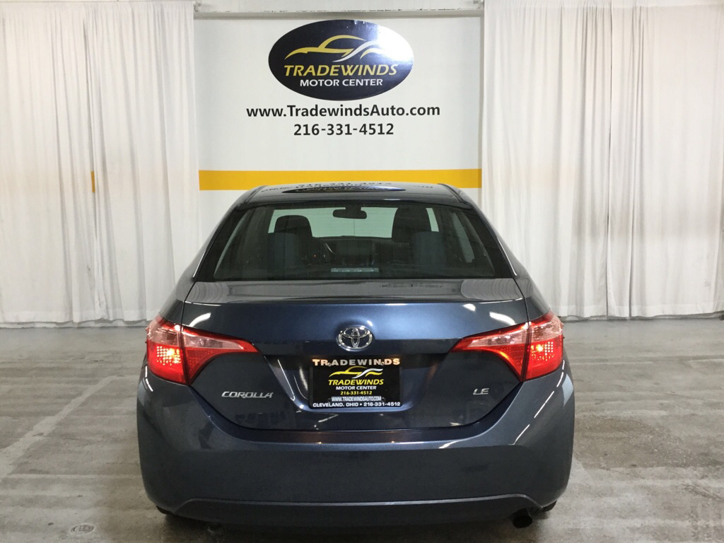2019 TOYOTA COROLLA LE for sale at Tradewinds Motor Center