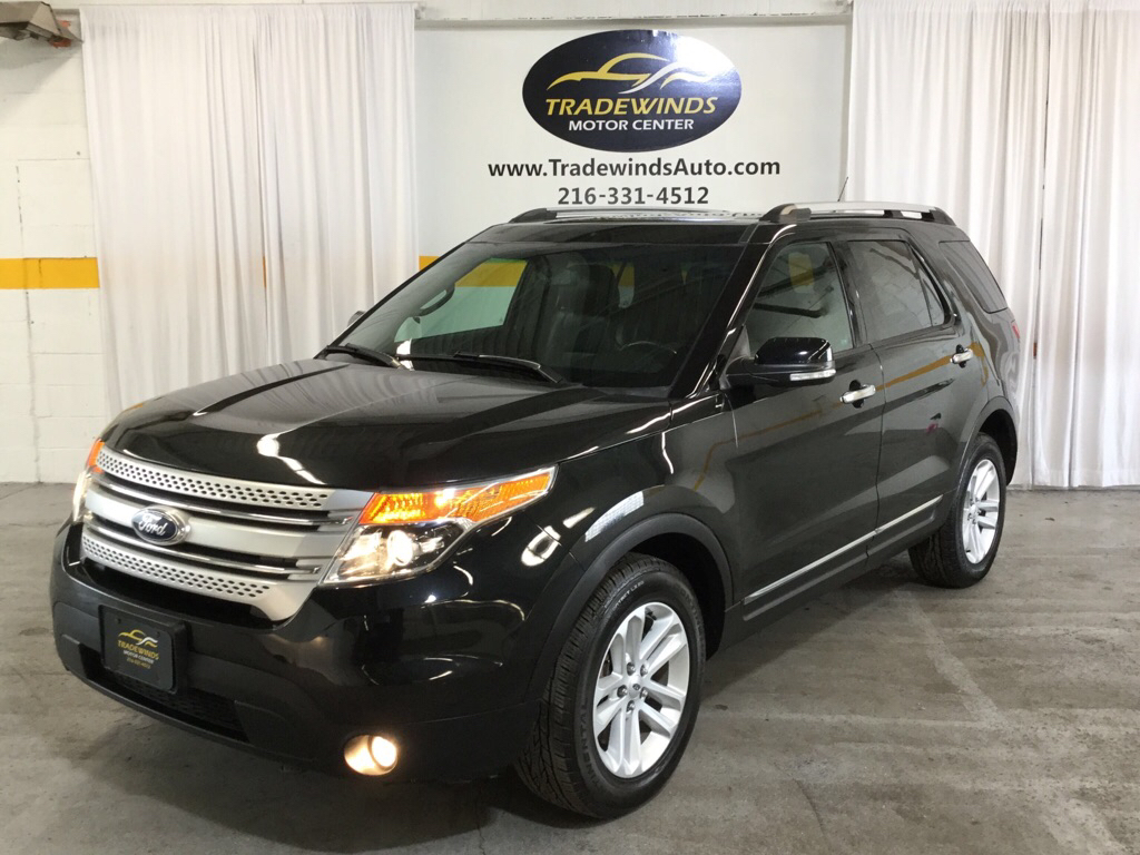 2013 FORD EXPLORER XLT for sale at Tradewinds Motor Center