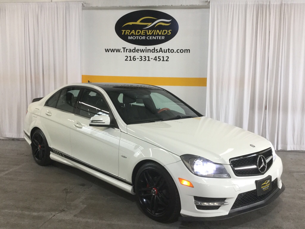 2012 MERCEDES-BENZ C-CLASS C250 for sale at Tradewinds Motor Center