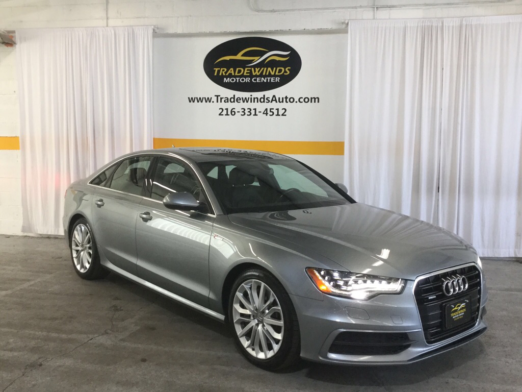 2013 AUDI A6 PRESTIGE for sale at Tradewinds Motor Center