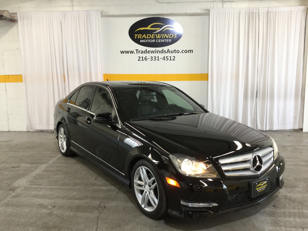 2013 MERCEDES-BENZ C-CLASS C250 for sale at Tradewinds Motor Center