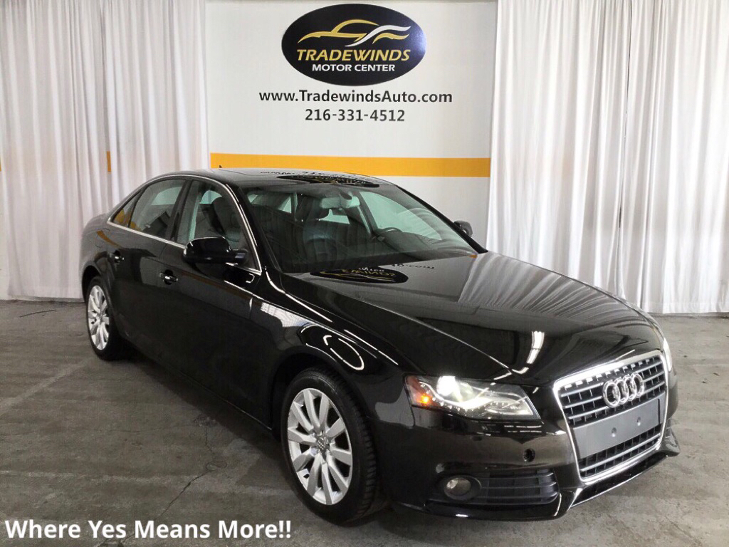 2010 AUDI A4 PREMIUM PLUS for sale at Tradewinds Motor Center