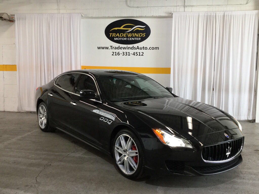 2015 MASERATI QUATTROPORTE S for sale at Tradewinds Motor Center