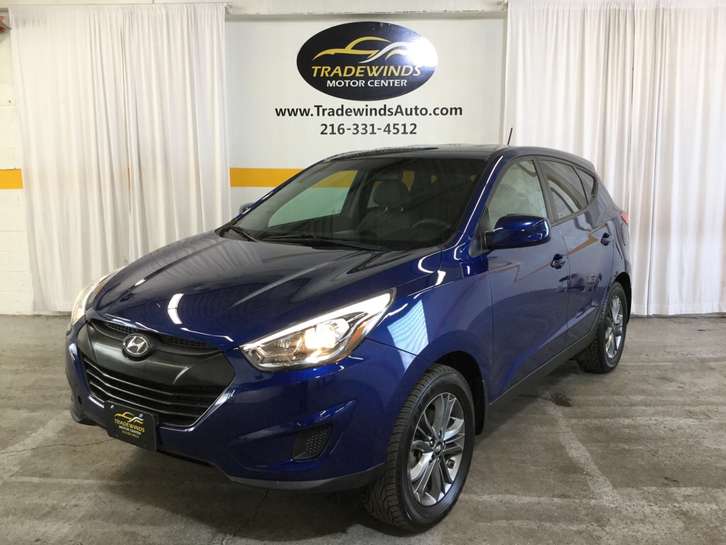 2015 HYUNDAI TUCSON GLS for sale at Tradewinds Motor Center