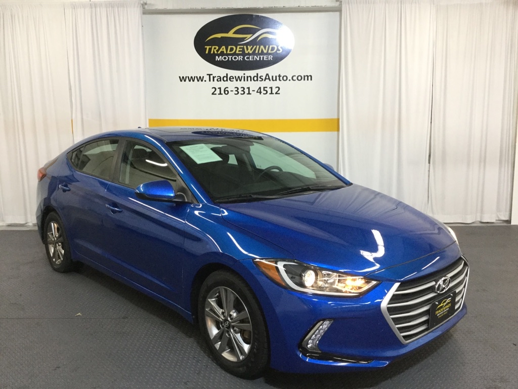 2017 HYUNDAI ELANTRA SE for sale at Tradewinds Motor Center
