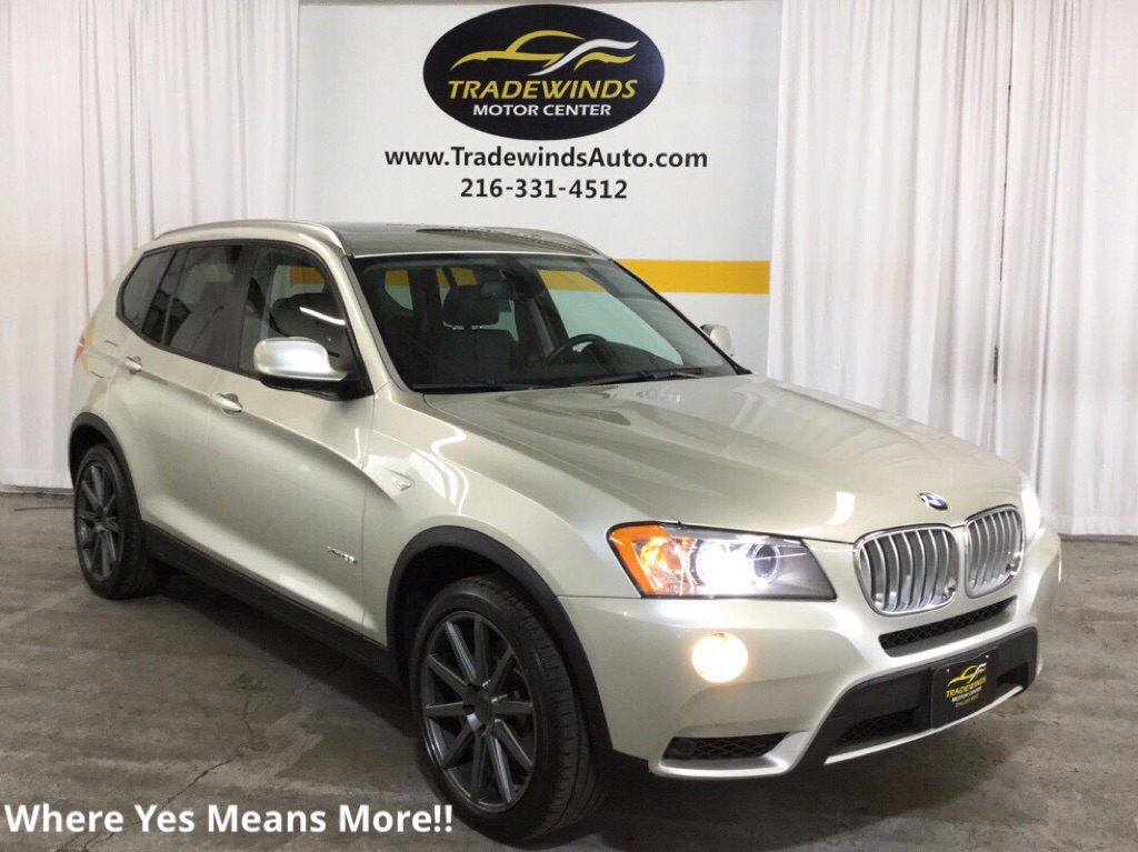 2012 BMW X3 XDRIVE35I for sale at Tradewinds Motor Center