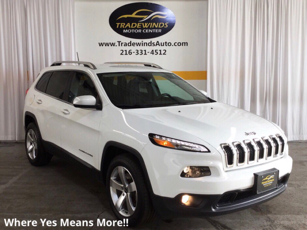 2016 JEEP CHEROKEE LATITUDE for sale at Tradewinds Motor Center