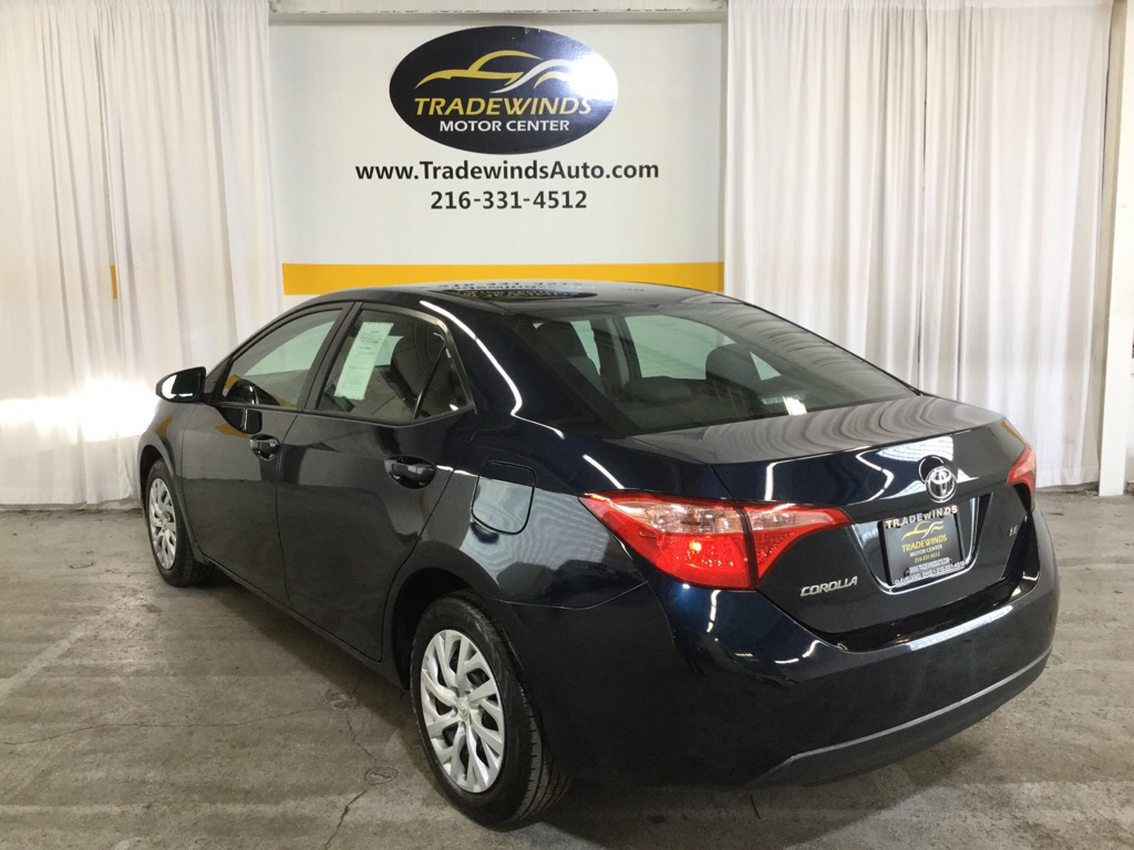 2018 TOYOTA COROLLA LE for sale at Tradewinds Motor Center