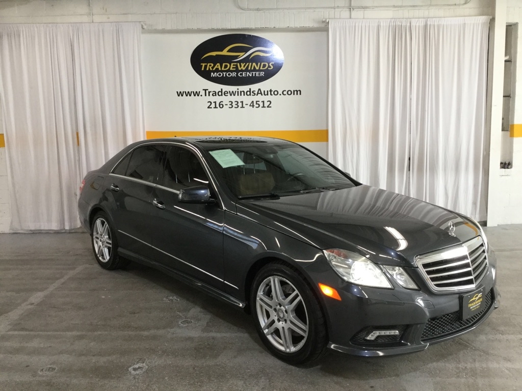 2010 MERCEDES-BENZ E-CLASS E550 4MATIC for sale at Tradewinds Motor Center