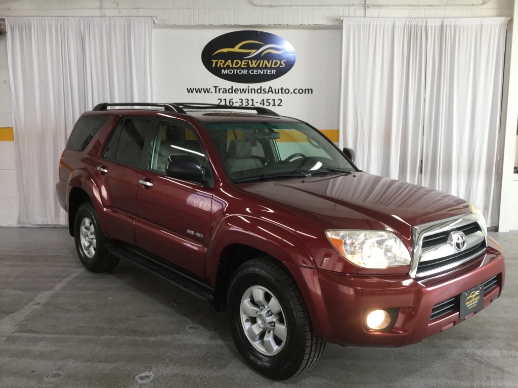 2007 TOYOTA 4RUNNER SR5 for sale at Tradewinds Motor Center