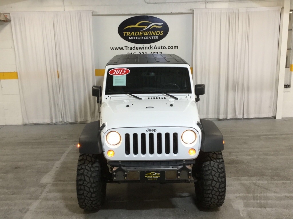 2015 JEEP WRANGLER UNLIMI RUBICON for sale at Tradewinds Motor Center