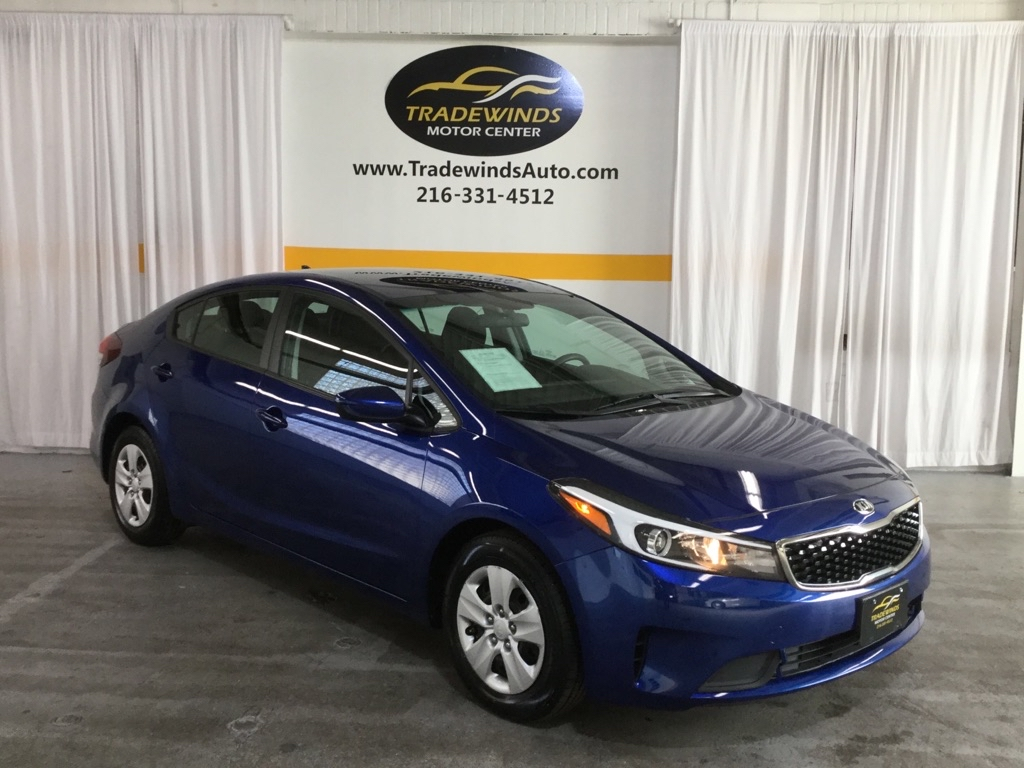 2017 KIA FORTE LX for sale at Tradewinds Motor Center